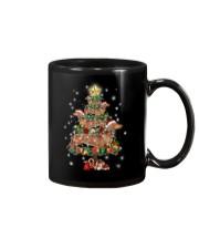 Dachshund and pine Mug thumbnail