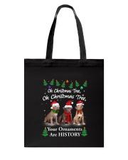 Oh Christmas Tree American Pit Bull Terrier Tote Bag thumbnail