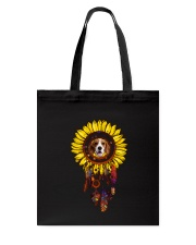 Beagle and Sunflower Tote Bag thumbnail