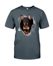Manchester Terrier Scratch Hole Mug 2801 Classic T-Shirt thumbnail
