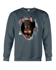 Manchester Terrier Scratch Hole Mug 2801 Crewneck Sweatshirt thumbnail