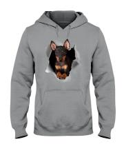 Manchester Terrier Scratch Hole Mug 2801 Hooded Sweatshirt thumbnail