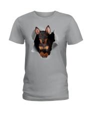 Manchester Terrier Scratch Hole Mug 2801 Ladies T-Shirt thumbnail