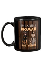 Rottweiler Simple Woman Mug 2201 Mug back