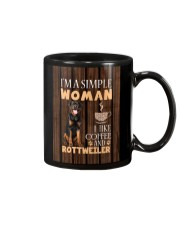 Rottweiler Simple Woman Mug 2201 Mug thumbnail