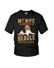 Loves My Beagle Youth T-Shirt thumbnail