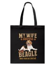 Loves My Beagle Tote Bag thumbnail