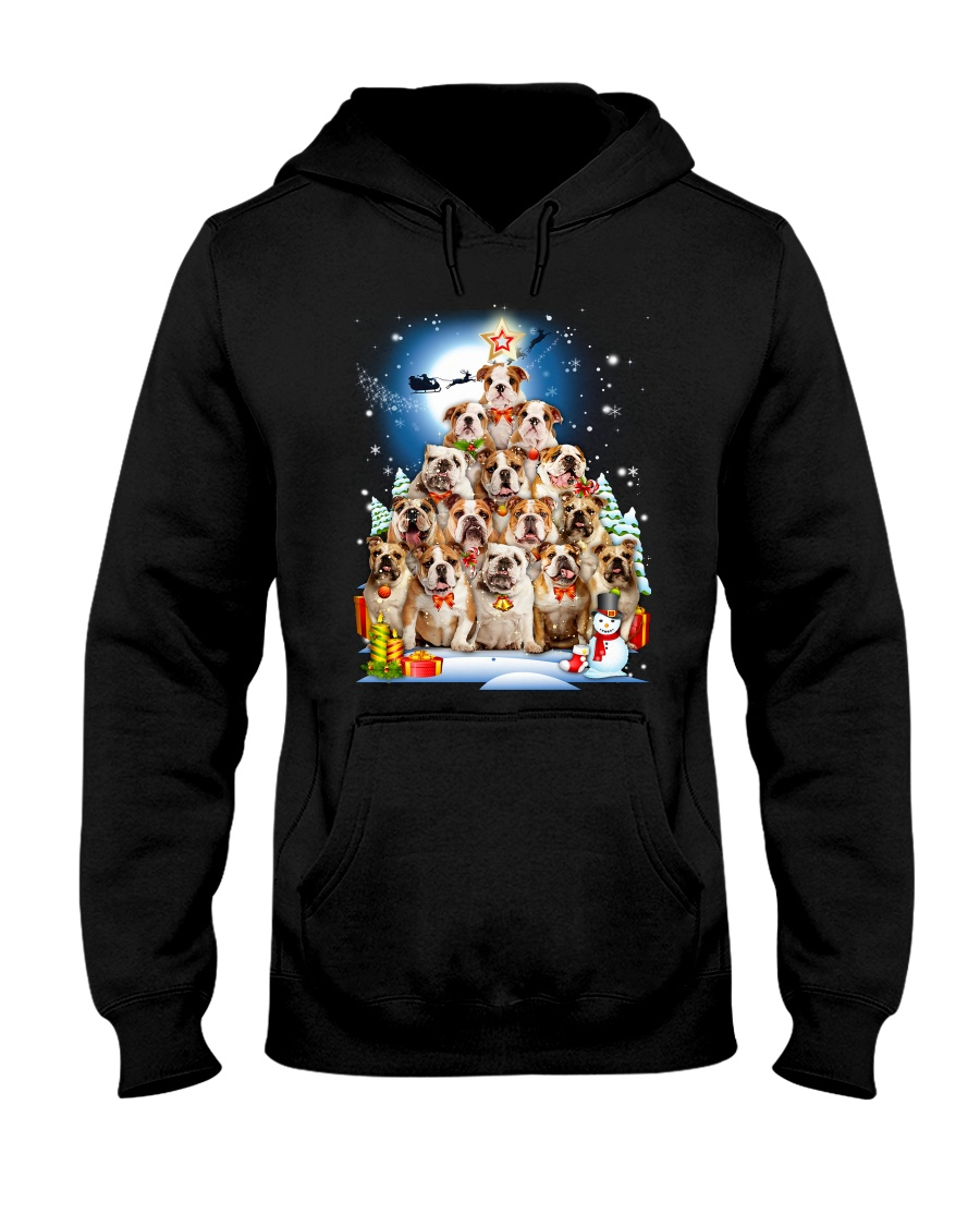 GAEA - Bulldog Tree - 0610 - A15 Hooded Sweatshirt