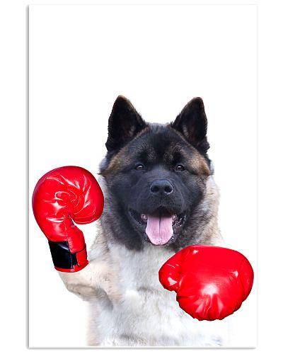 Akita Boxing Poster 1812