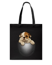 Bulldog Cute Tote Bag thumbnail