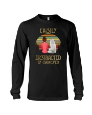 Samoyed Easily Distracted 1012 Long Sleeve Tee thumbnail