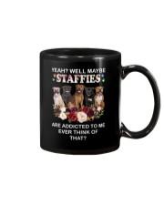 Staffie addicted 0810 Mug thumbnail