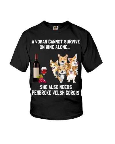 Pembroke Welsh Corgi A Woman Cannot Survive 3001