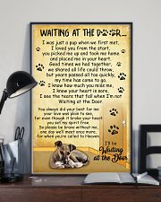 Italian Greyhound Waiting At The Door Poster 2301 11x17 Poster lifestyle-poster-2