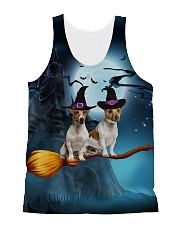 Jack Russell Terrier Magic  All-over Unisex Tank front