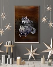 Chinchillas Always Believe 11x17 Poster lifestyle-holiday-poster-1