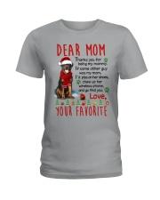 Rottweiler Mommy Christmas Ladies T-Shirt thumbnail