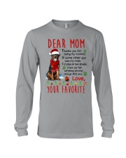 Rottweiler Mommy Christmas Long Sleeve Tee thumbnail