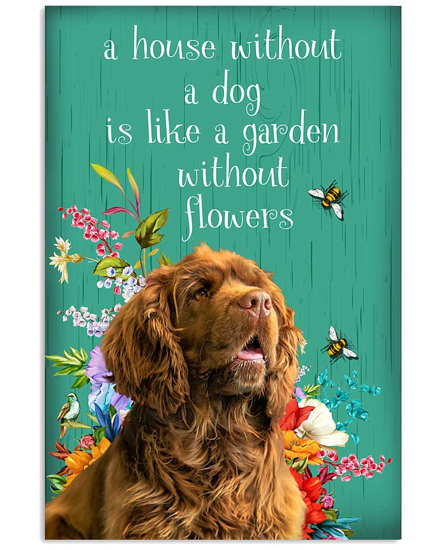 Sussex Spaniel Flower 11x17 Poster