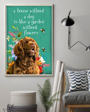 Sussex Spaniel Flower 11x17 Poster lifestyle-poster-1