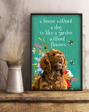 Sussex Spaniel Flower 11x17 Poster lifestyle-poster-3