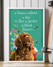 Sussex Spaniel Flower 11x17 Poster lifestyle-poster-4