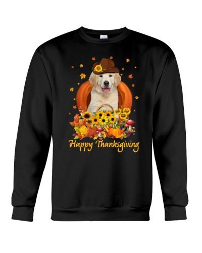 Golden Retriever Thanksgiving 1210