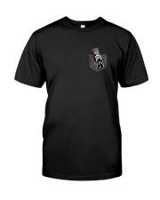 German Shepherd Skeleton Pocket 0712 Classic T-Shirt thumbnail