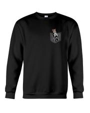 German Shepherd Skeleton Pocket 0712 Crewneck Sweatshirt front