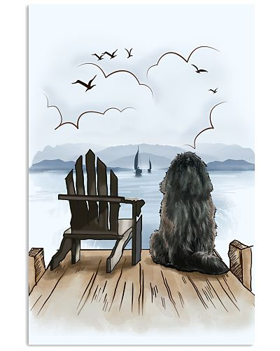 Tibetan Mastiff Waiting Poster 1512