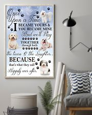 Coton de Tulear Became Mine 11x17 Poster lifestyle-poster-1