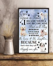 Coton de Tulear Became Mine 11x17 Poster lifestyle-poster-3