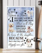 Coton de Tulear Became Mine 11x17 Poster lifestyle-poster-4