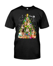 Bulldog Pine Tree  Classic T-Shirt thumbnail
