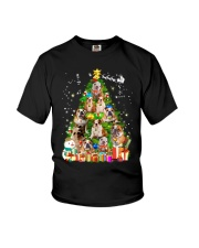 Bulldog Pine Tree  Youth T-Shirt thumbnail