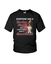 Basset Hound Guardian Angel 1112 Youth T-Shirt tile
