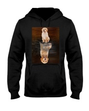 Golden Retriever Reflection Mug 1412 Hooded Sweatshirt thumbnail