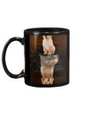 Golden Retriever Reflection Mug 1412 Mug back