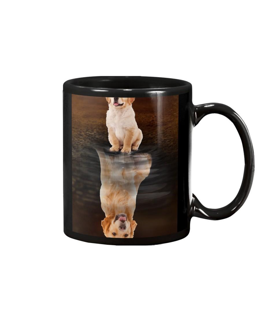 Golden Retriever Reflection Mug 1412 Mug