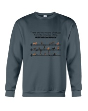 Music and Dachshund Crewneck Sweatshirt thumbnail
