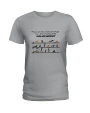 Music and Dachshund Ladies T-Shirt thumbnail