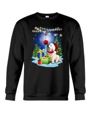 Golden Retriever and gift Crewneck Sweatshirt front