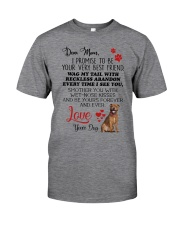 Staffie mom 2409 Classic T-Shirt thumbnail