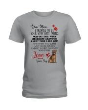 Staffie mom 2409 Ladies T-Shirt thumbnail
