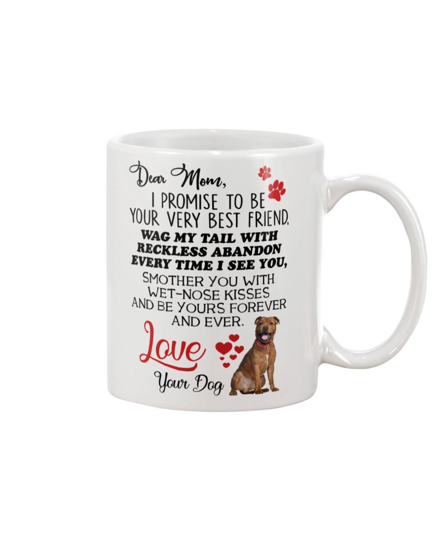 Staffie mom 2409 Mug