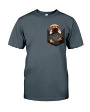 Bullmastiff Pocket  2 Classic T-Shirt tile