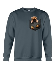 Bullmastiff Pocket  2 Crewneck Sweatshirt thumbnail