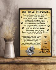 English Setter Waiting at The Door 11x17 Poster lifestyle-poster-3