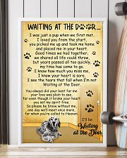 English Setter Waiting at The Door 11x17 Poster lifestyle-poster-4