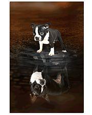 Boston Terrier Believe 11x17 Poster front